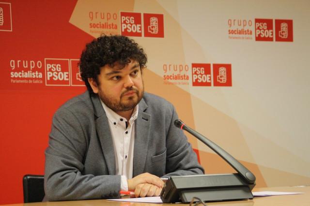 El portavoz de sanidad del PSdeG, Julio Torrado