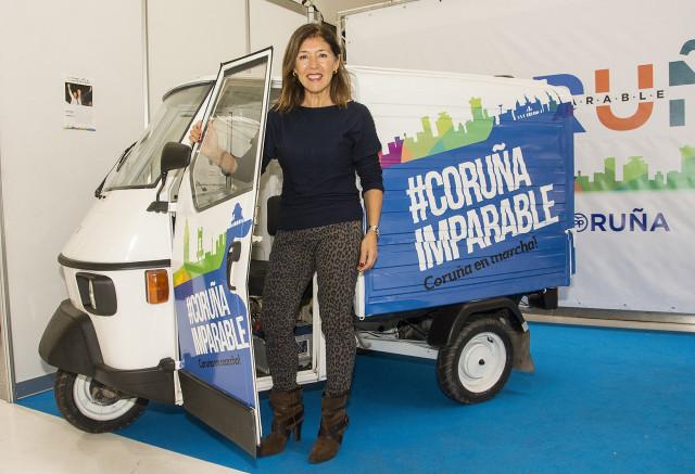 Beatriz Mato, candidata del PP en A Coruña presenta el 'MatoCarro'