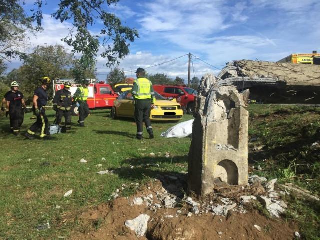 Tres muertos en un accidente de tráfico en Valdoviño