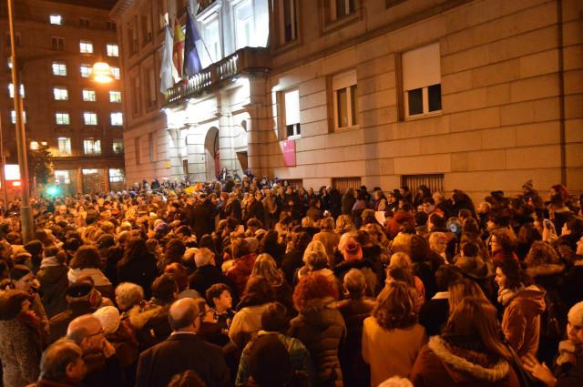 Concentración feminista convocada este miércoles en Ourense