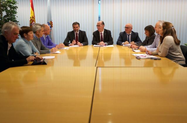 Reunión entre Atención Primaria de Vigo y el conselleiro de Sanidade