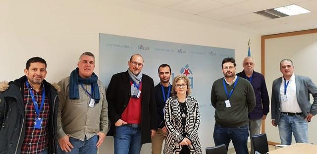 Reunión de trabajadores de Vodafone con grupos parlamentarios