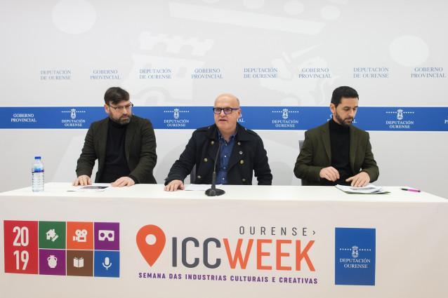Presentación de la Ourense ICC Week.