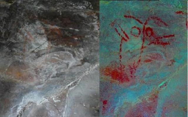 Descubren el mayor conjunto de pintura esquemática prehistórica de Galicia