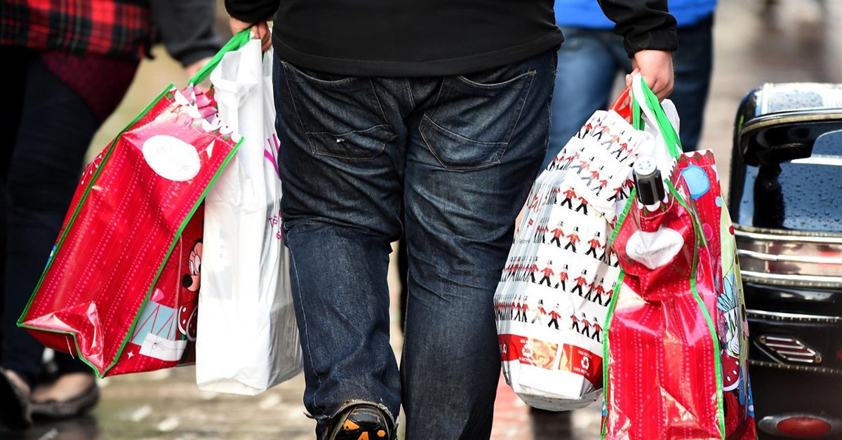 Compras bolsas navidad