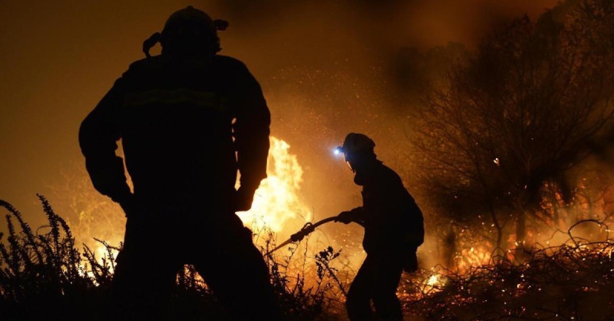 Incendio extincion bomberos