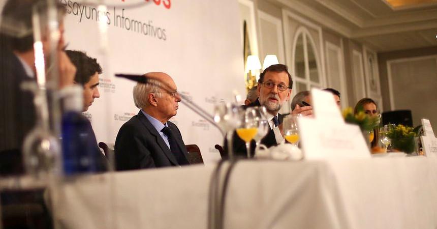 Rajoy desayuno