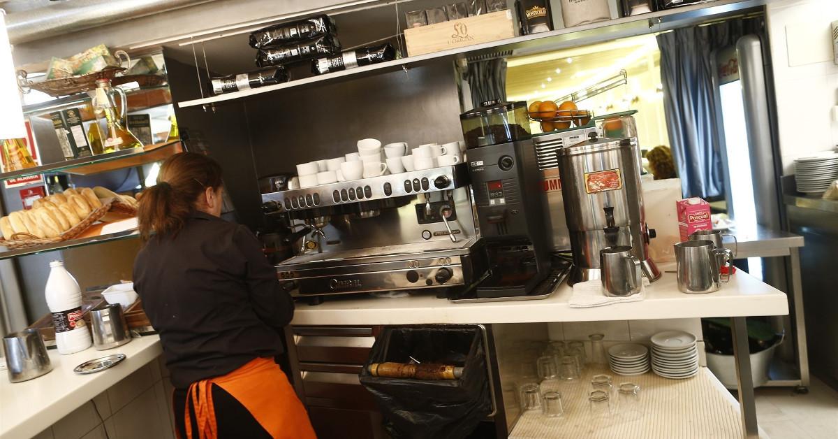 Cafeteria trabajadora