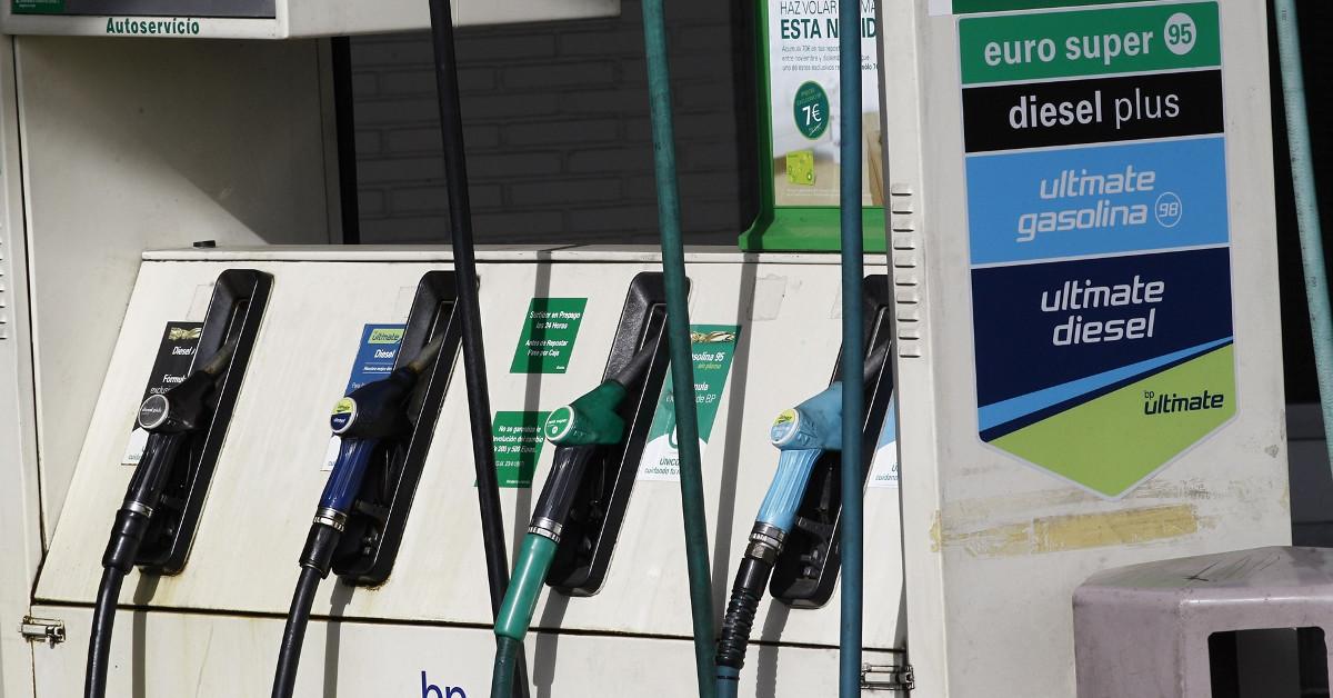Combustibles gasolinera carburantes