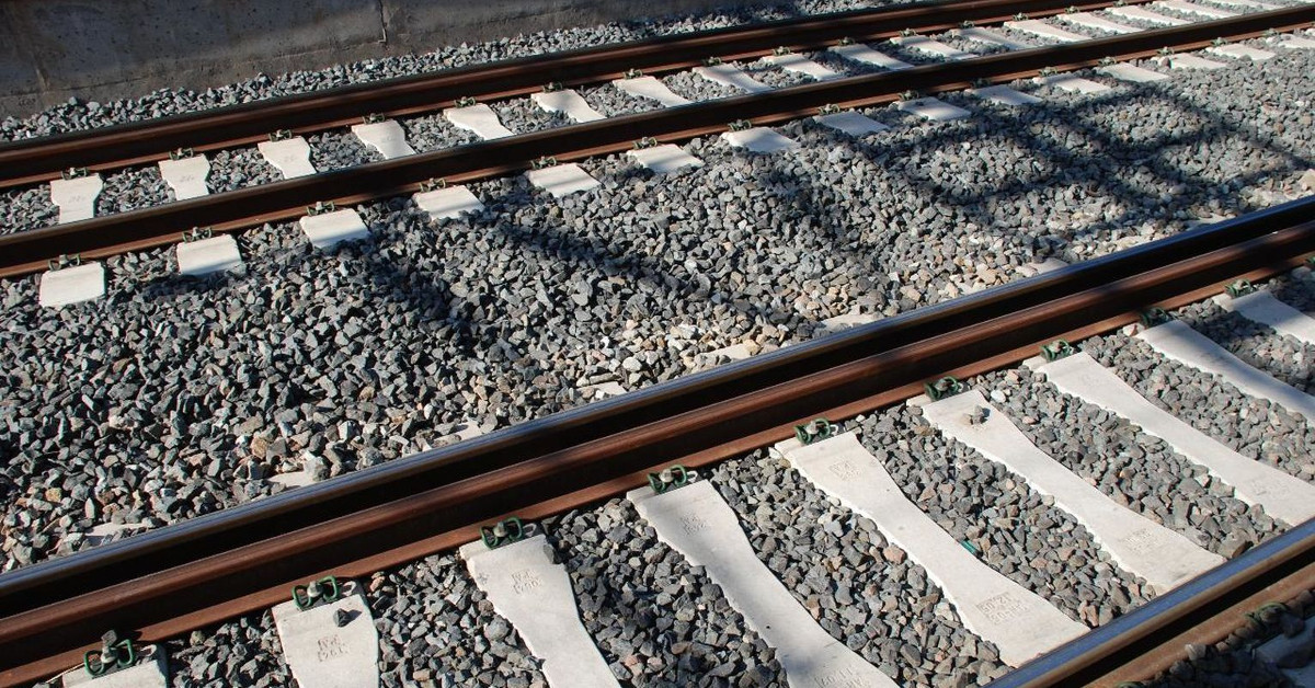 Vias tren ferrocarril