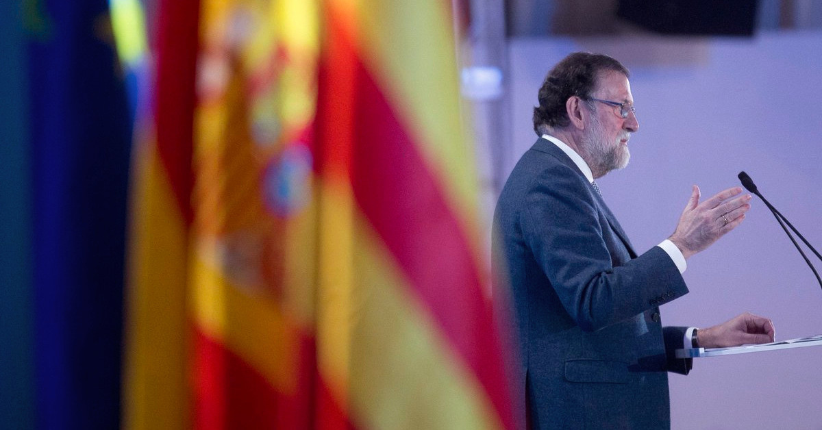 Rajoy bandera
