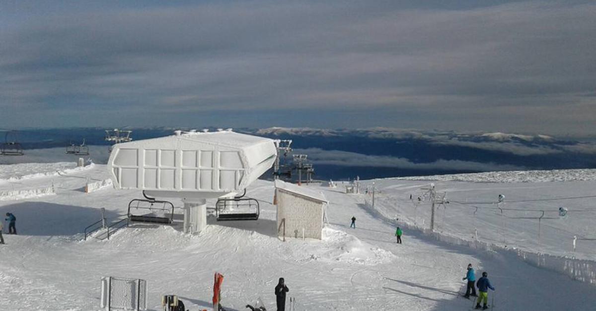Manzaneda esqui