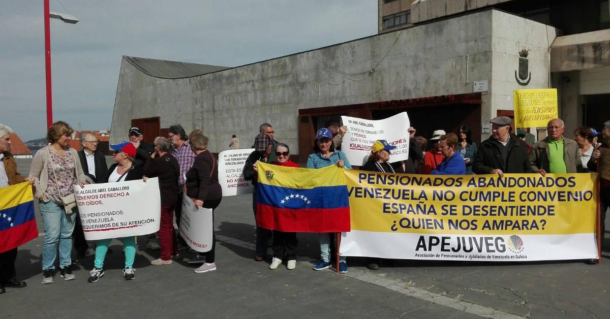 Pensionistas venezuela vigo