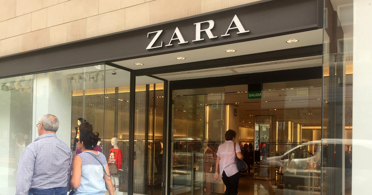Zara tienda inditex