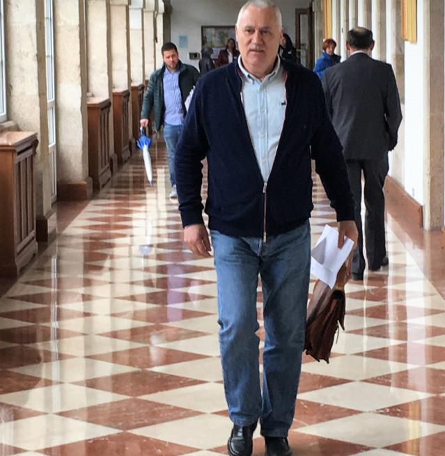 Manuel Martínez, expulsado de la Diputación de Lugo
