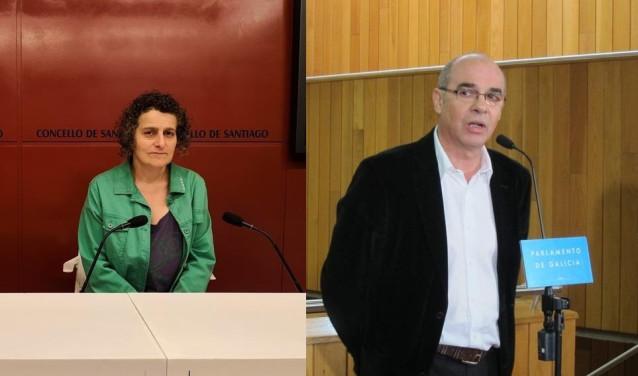 Goretti Sanmartín y Francisco Jorquera
