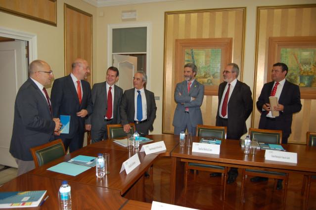 Reunión Del Eixo Atlántico En Vigo