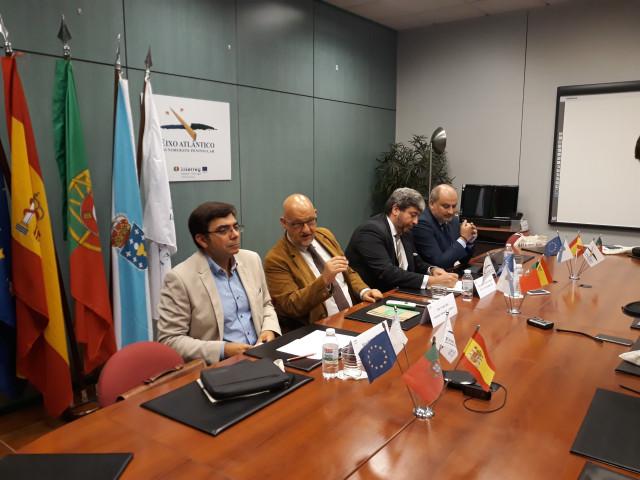 Reunión del Eixo Atlántico con representantes de Arriva Spain Rail