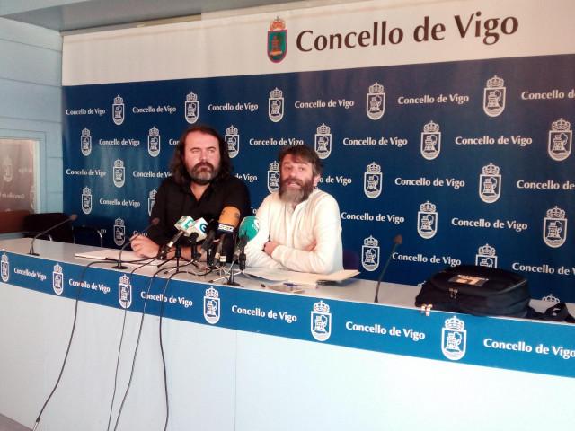 Rubén Pérez y Xosé L. Jácome, de Marea de Vigo