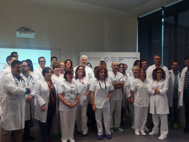 Equipo de Cardiología del Chuvi