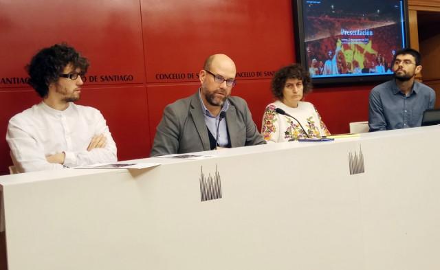 Martiño Noriega y Goretti Sanmartín presentan 'Unha Gran Burla Negra'