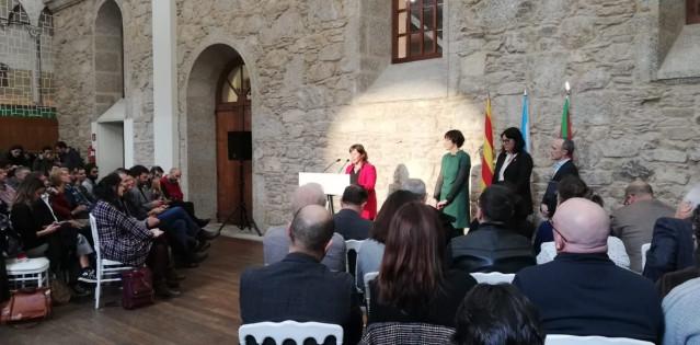 Presentación de la candidatura de BNG, ERC y EH Bldu para las europeas