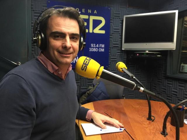 Entrevista de Diego Calvo en la Cadena SER