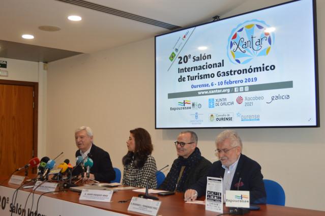 Presentación de Xantar en Ourense.
