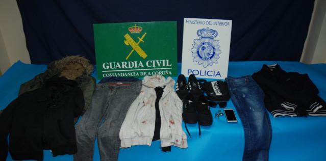 Detenido un hombre por varios atracos ocurridos en la provincia de A Coruña .