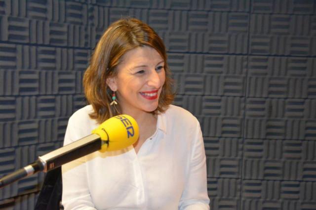 Yolanda Díaz emplaza a Villares a que aclare si quiere