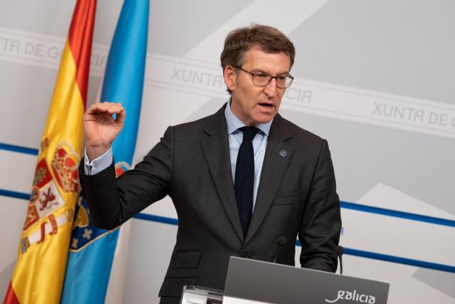 Feijóo clama por que España y Galicia