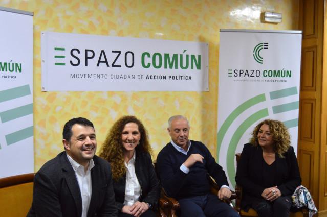 Pachi Vázquez presenta Espazo Común, su nuevo partido que presentará candidatura