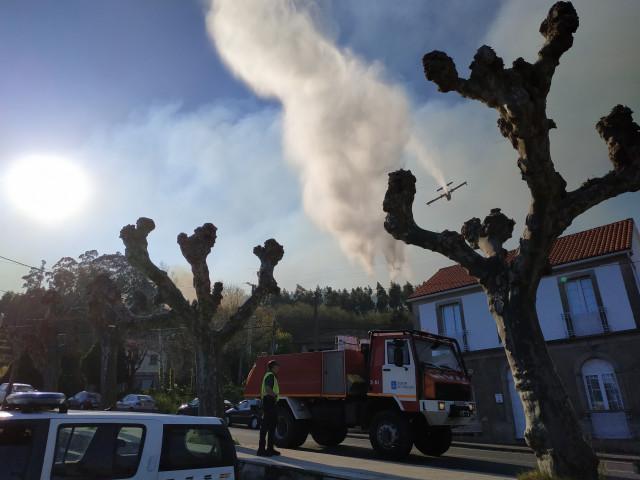 La Policía Autonómica esclarece que el incendio de Dodro y Rianxo fue causado po