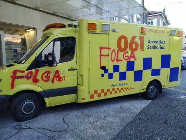 Galicia.- Suspendida la huelga de trabajadores de ambulancias tras aceptar los t