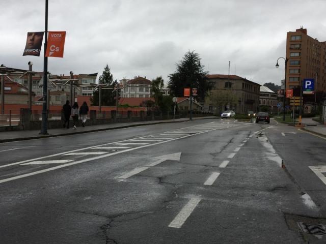 28A.- La Junta Electoral Abre Expediente Sancionador A Ciudadanos Por No Retirar Propaganda De Dos Calles De Pontevedra