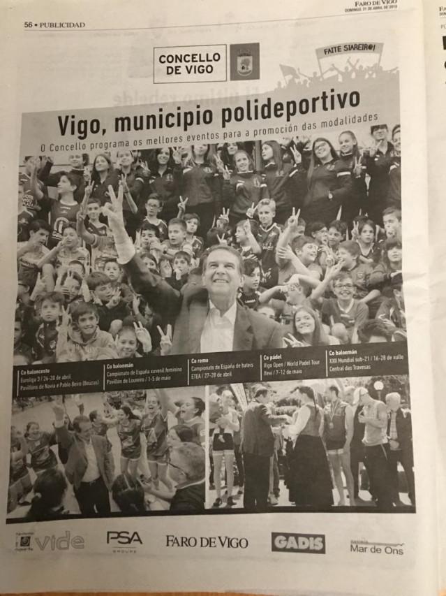 28A.- Marea Denuncia A Abel Caballero Por Vulnerar La Ley Electoral Con Un Anuncio En Prensa