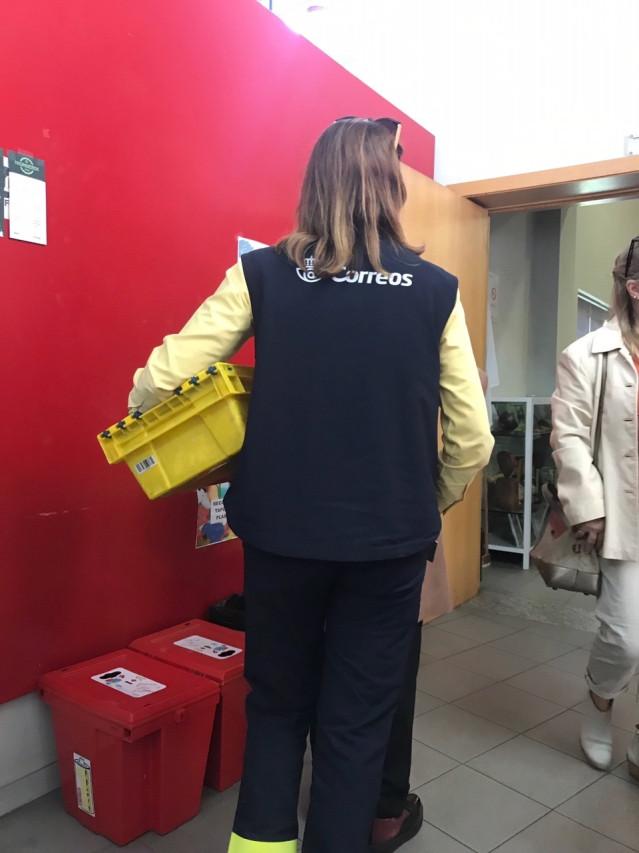 AMPL.-28A.- La Junta Electoral Provincial dará a conocer este jueves el escrutinio del voto CERA en Asturias