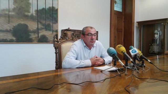 El presidente de la Diputación de Lugo, Darío Campos.