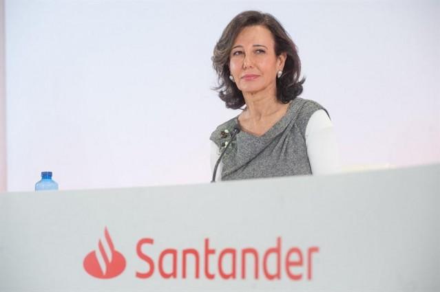 Economía/Finanzas.- Banco Santander celebra mañana su junta de accionistas