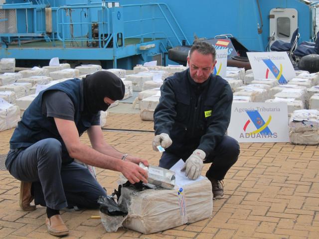 AV.- El pesquero vasco apresado con 2.500 kilos de cocaína destinada a Galicia estaba vigilado tras pasar por A Coruña
