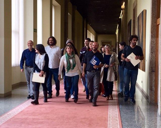 Grupo Parlamentario de En Marea en la X Legislatura