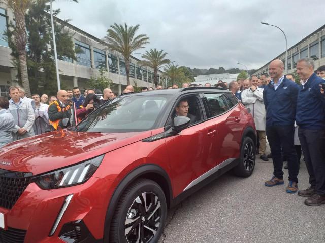 AMP.- PSA Vigo presenta en sociedad el nuevo Peugeot 2008, cuya producción en serie comenzará en octubre