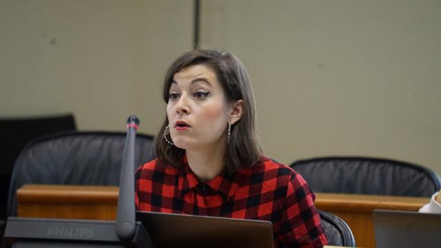 La diputada de En Marea, Eva Solla.
