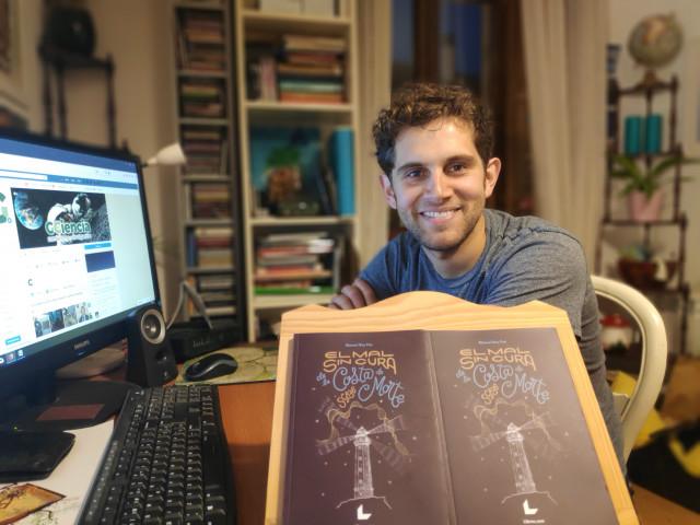 Manuel Rey Pan, autor de 'El mal sin cura de la Costa da Morte'