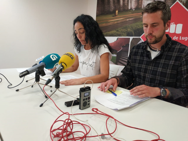 Rueda de prensa tras la junta de gobierno local en Lugo