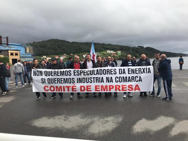 Concentración trabajadores Ferroatlántica
