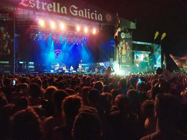 Escenario principal del Festival de Ortigueira, en su edición del año 2019