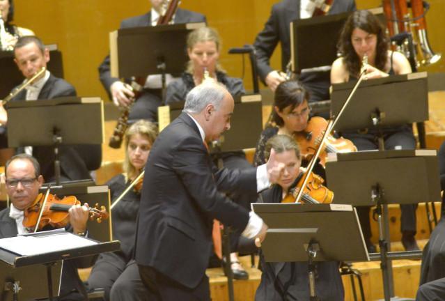 Imagen de un concierto de la Real Filharmonía de Galicia