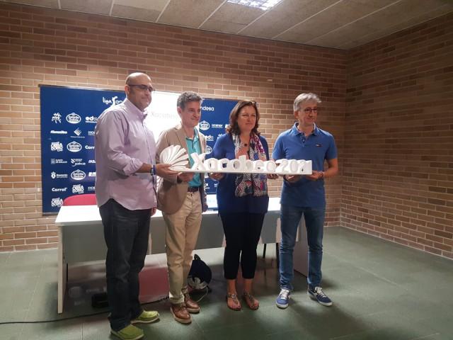 Presentación del Torneo Xacobeo 21 con la presencia de la comisaria del Xacobeo, Cecilia Pereira
