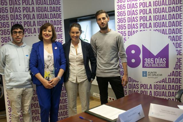La Xunta firma acuerdos con asociaciones LGTBI